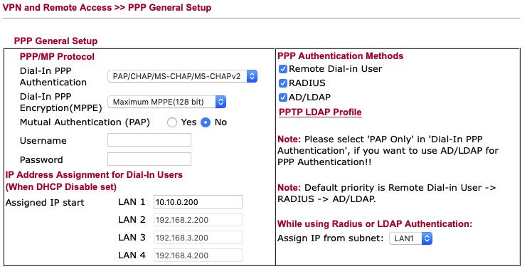 IpSec with Soho Draytek Routers and Mac/Windows - Wolfgang